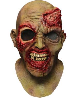 Latexová maska zombie ujíždějící oko