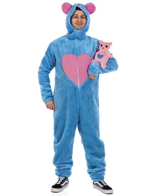 Дорослі сині котячі костюми