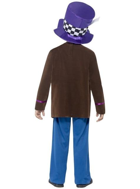 Disfraz de sombrerero para niño - infantil