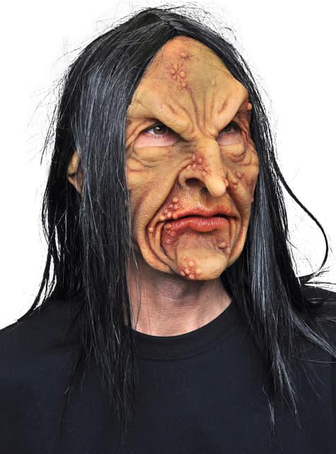 Mască Vrăjitoare Deviant din latex