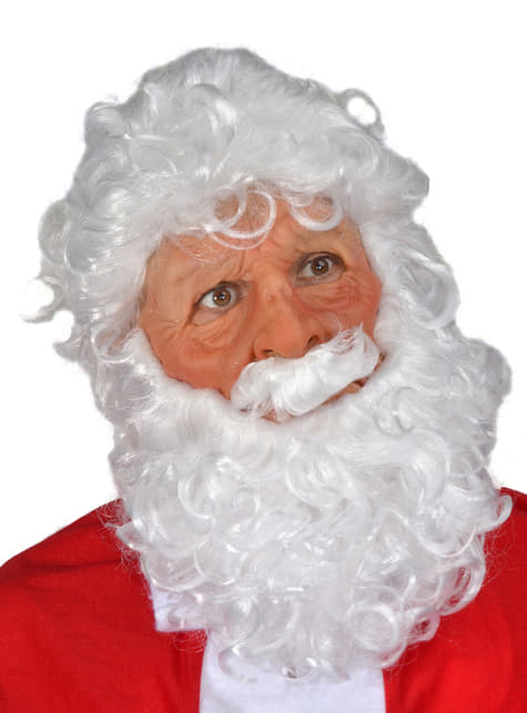 Santa Claus latex mask