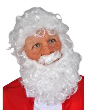 Weihnachtsmann Latex-Maske