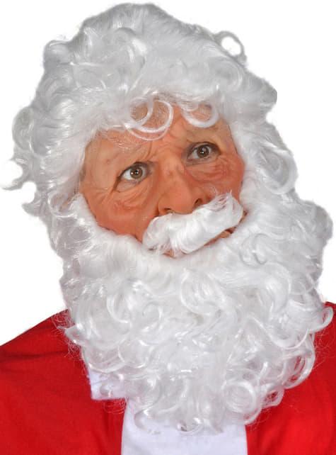 Máscara Santa Claus de látex - para tu disfraz
