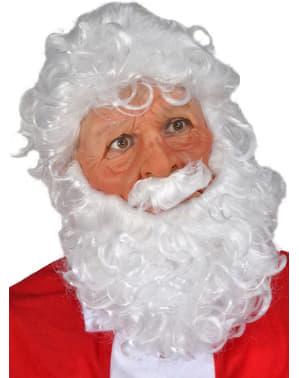Maschera Santa Claus in lattice