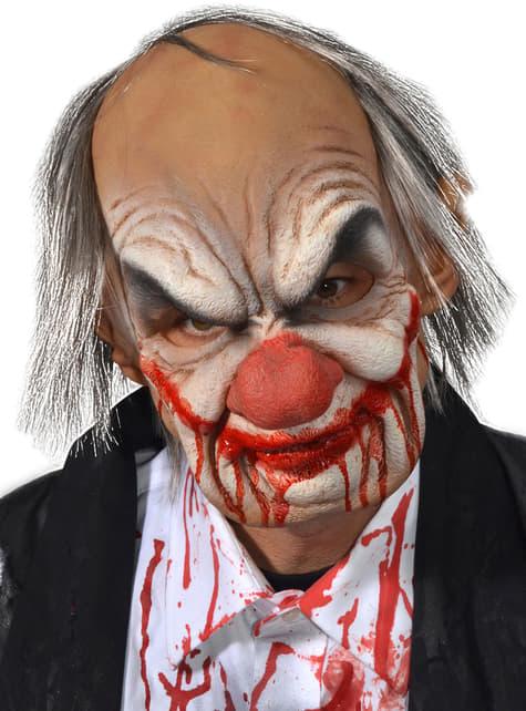 Smiley Clown latex maskom