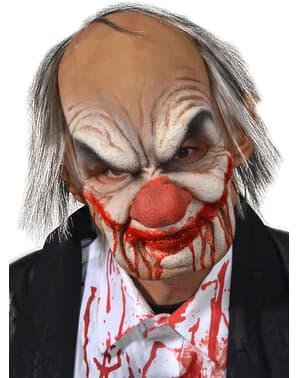 Смайлик латексна маска клоуна