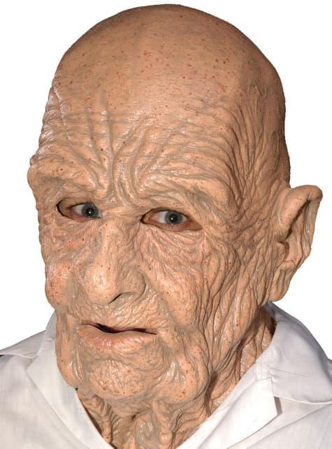 Gammel person latexmaske