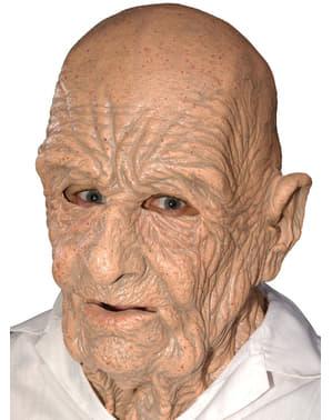 Maschera da anziano in lattice