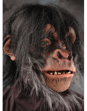 Maschera Scimpanzè Super Action in lattice