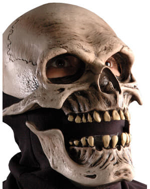 Death Skull Latex-Maske