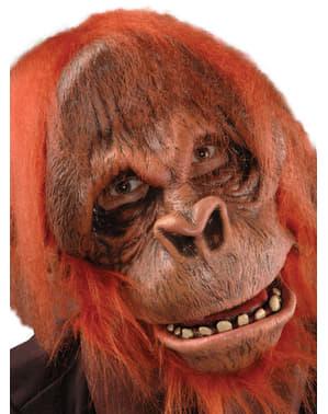 Latexová maska orangutan