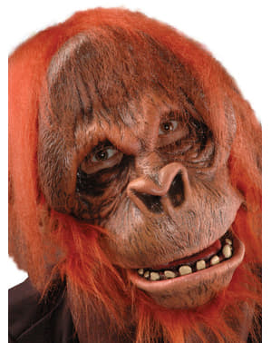 Masker van latex Orangoetan Super Action
