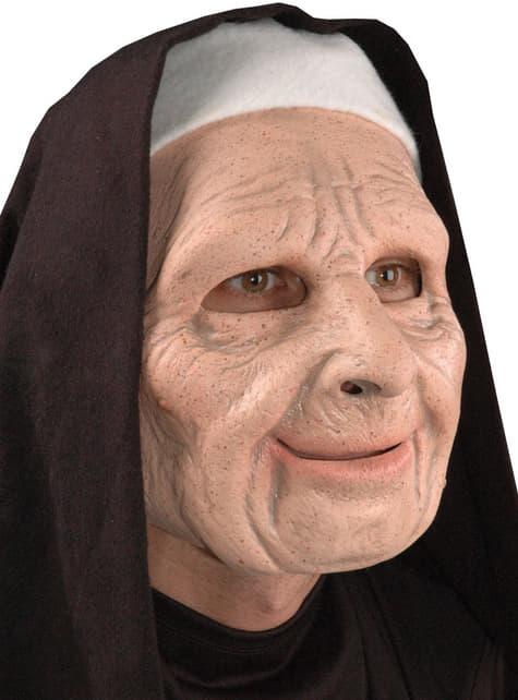 Máscara Monja Ciudad de Ladrones de látex