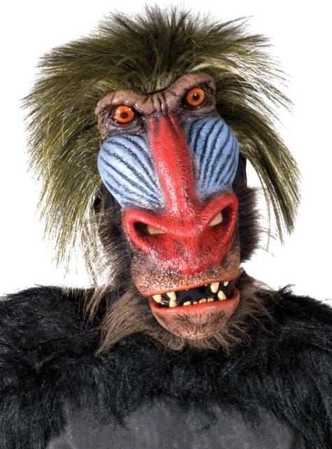 Wild Baboon latex mask