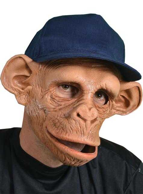Maska lateksowa Chee-Chee Monkey z czapką