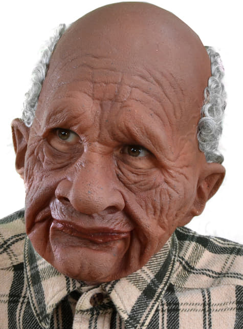 Masque Grandpappy Afro en latex