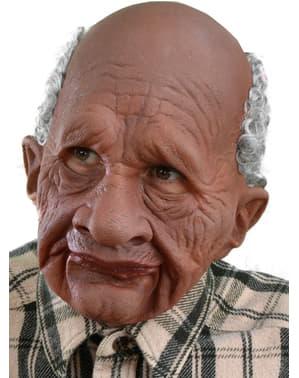 Máscara de abuelito afro