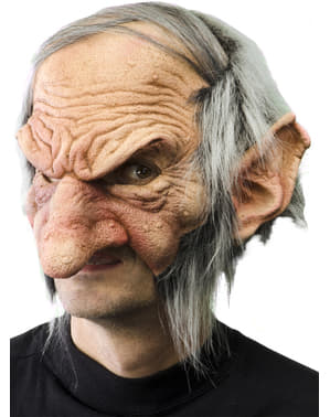 Goblin with Warts latex mask
