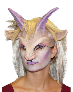 Goat Girl latex mask