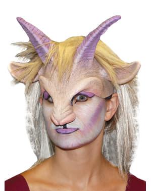Máscara Goat Girl em látex