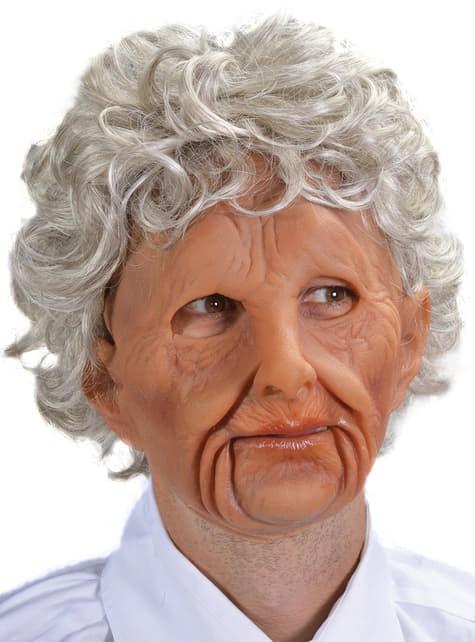 Máscara Old Woman de látex