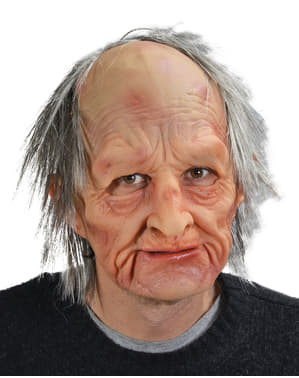 Maschera da anziano