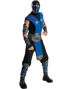 Fato de Sub-Zero Mortal Kombat Deluxe