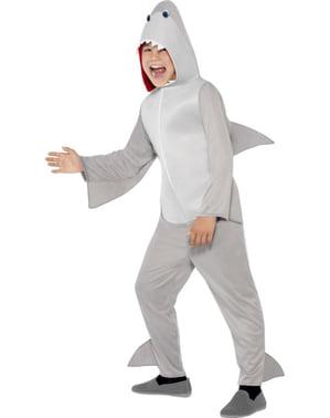 Disfraz de tiburón para niño