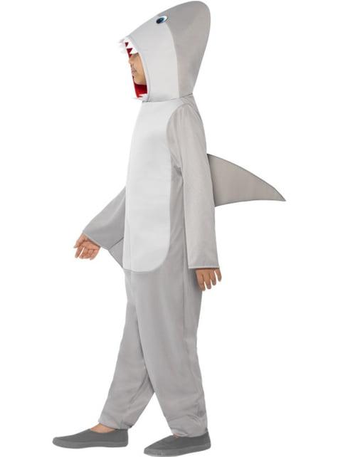 Fato de tubarão para menino