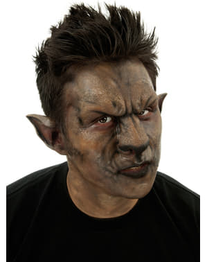 Prosthetic Werewolf Nose and Forehead