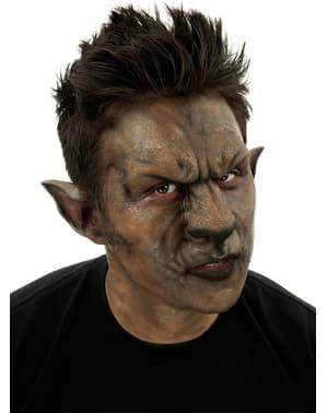 Werwolf Latex-Nase und Stirn