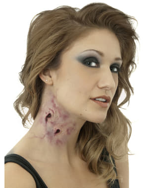Dødelig Kyss Latex Protese