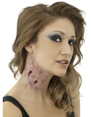 Lethal kiss latex prosthesis