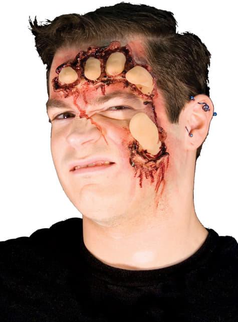 Prótesis de látex Face Crusher