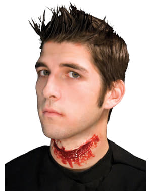 Prothèse latex cou coupé