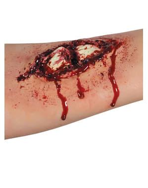 Brækket knogle latexprotese