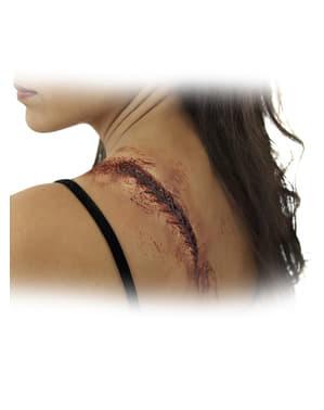 Protesi in lattice frustata sulla schiena
