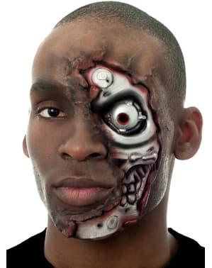 Latexová maska Terminátor