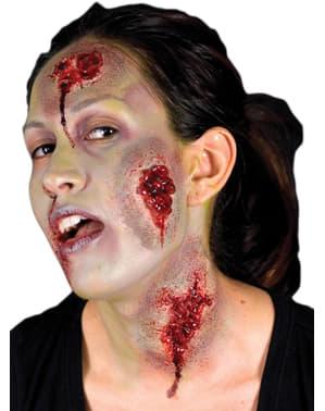 Protesi in lattice ferita sanguinante