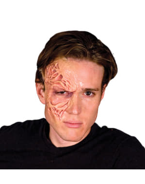 Disfigured skin latex prosthesis