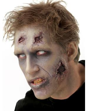 Proteză din latex zombie spion nocturn