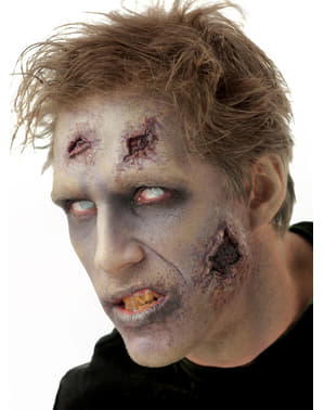 Proteza lateksowa zombie nocny szpieg