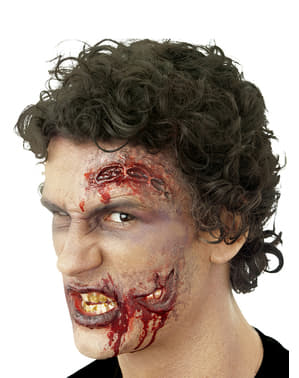 Latexová maska druhá ústa