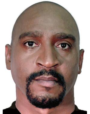 Crâne chauve marron