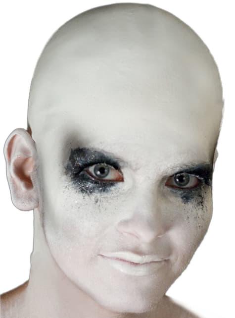 Kaal hoofd wit