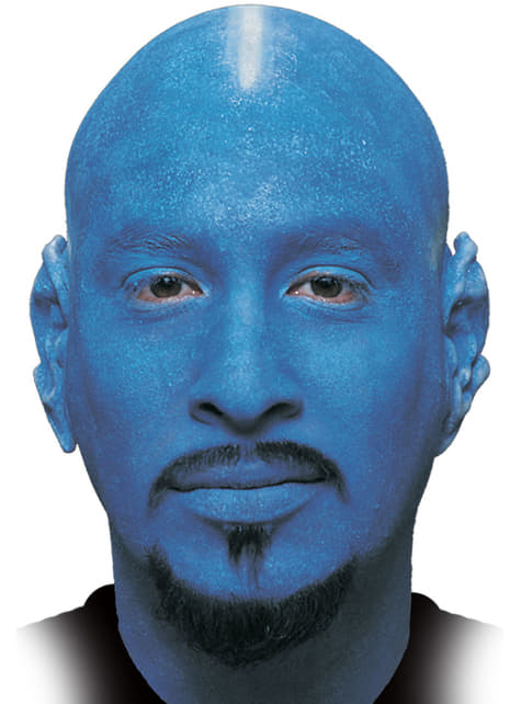Синій тюбетейку