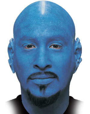 Umělá pleš modrá