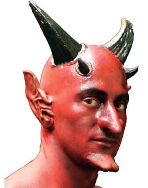 Kaal hoofd rood