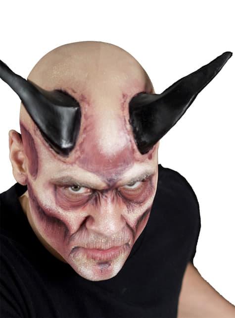 Cuernos gigantes black demon de látex