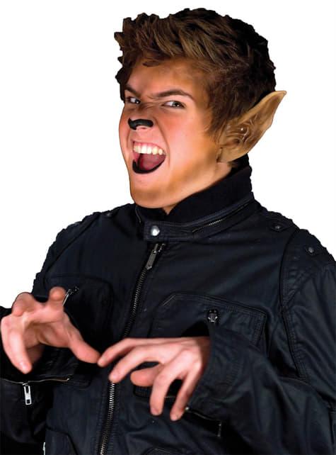 Orejas de Hombre Lobo de látex